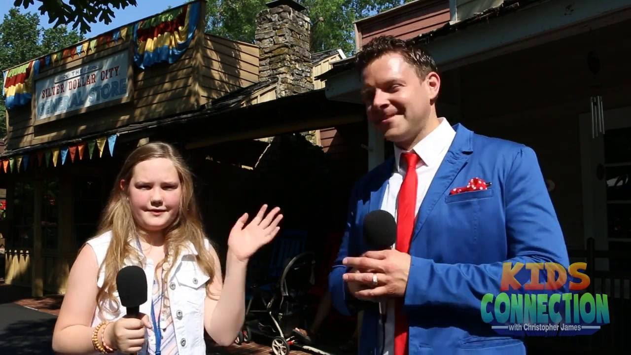 Kids Connection talks with SIlver Dollar City's Cameron Hansen in Branson (2016)