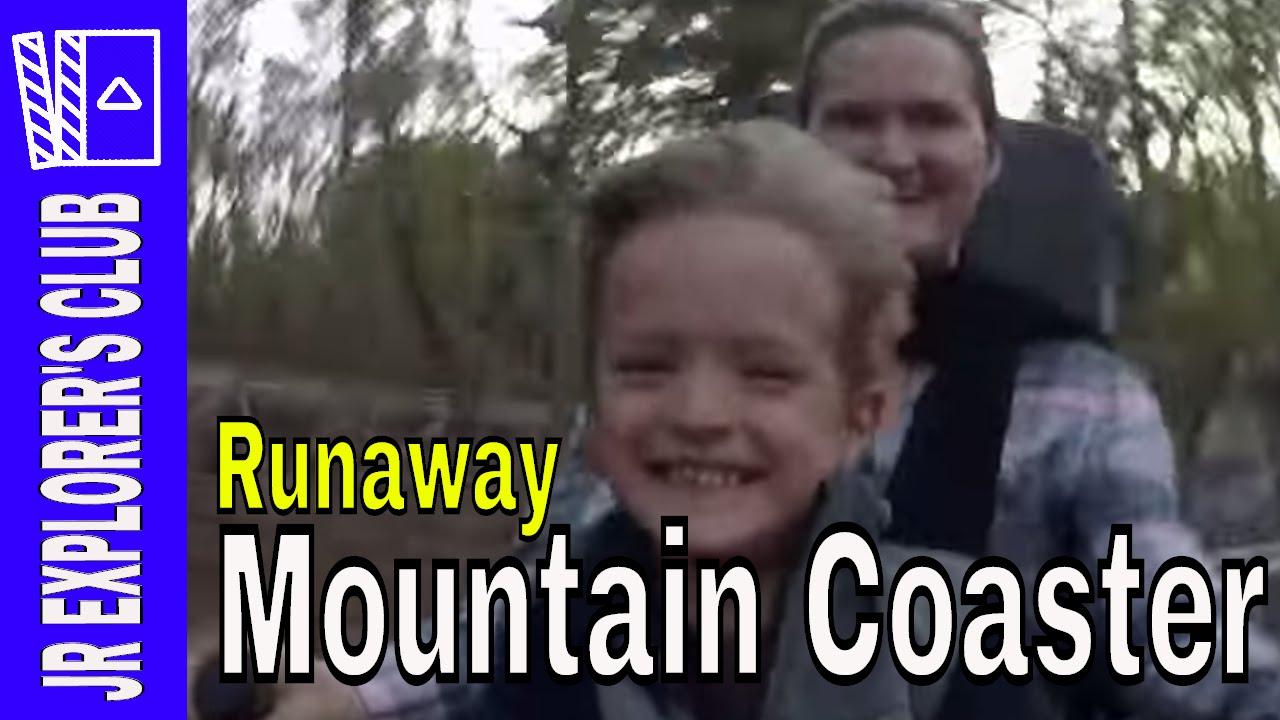 The Runaway Mountain Coaster in Branson, MO