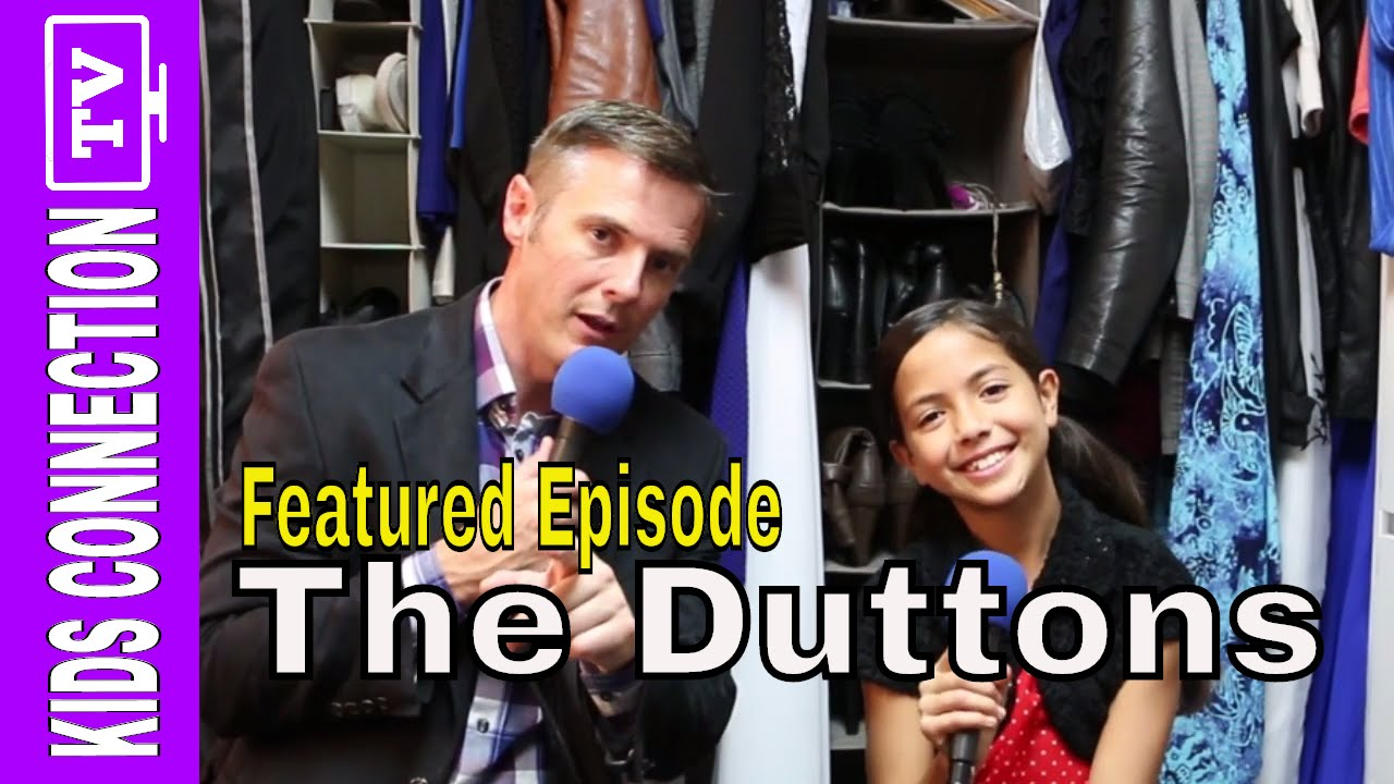 The Duttons From Branson Missouri Featured on Kids Connection