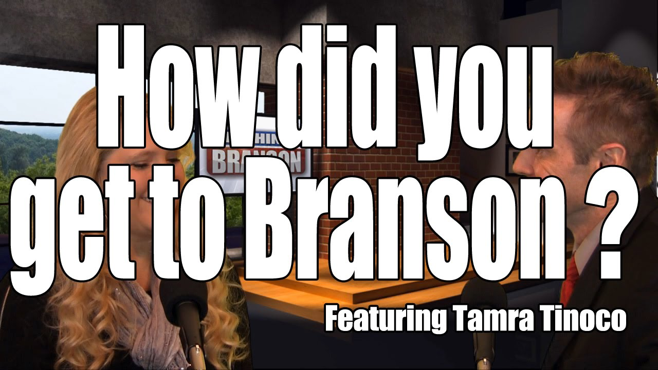 How did Magnificent 7's Tamra Tinoco come to Branson?