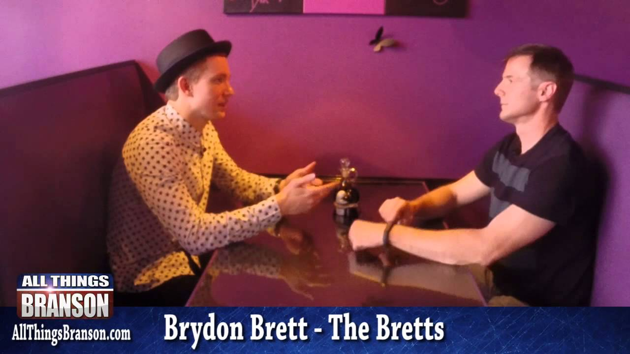 The search for a wife by email with Brydon Brett from The Bretts Show in Branson, MO