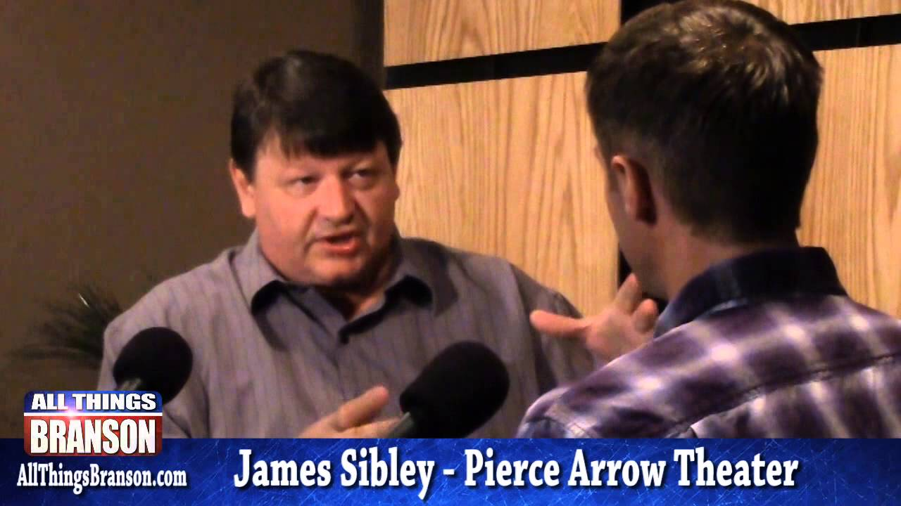 James Sibley From Branson's Pierce Arrow Theater: Americas changing consciousness