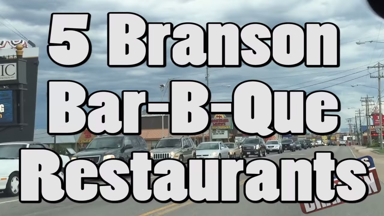 THROWBACK THURSDAY: Top 5 Branson BBQ Restaurants – Branson, MO (July 2015)
