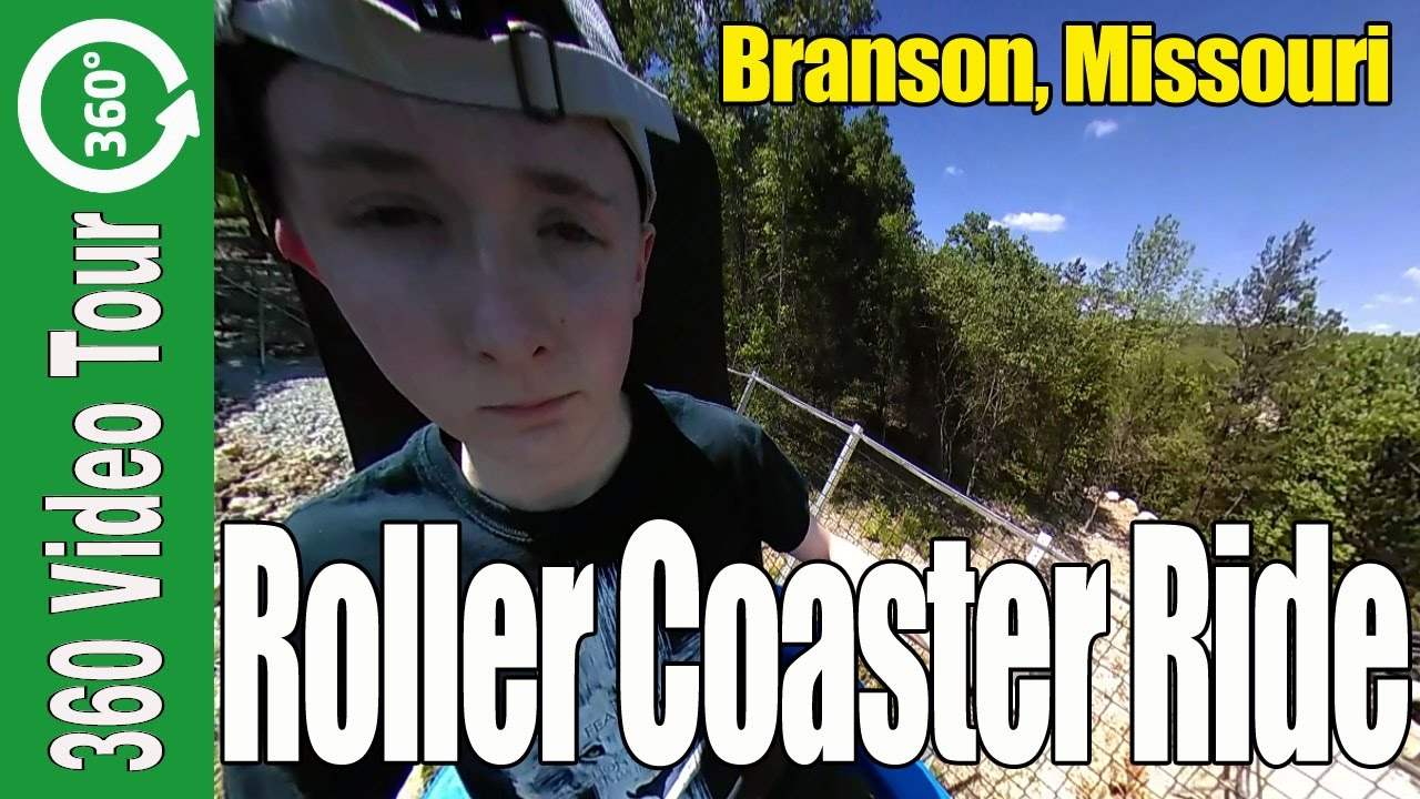 360 VR Vide: Runaway Mountain Coaster in Branson Missouri