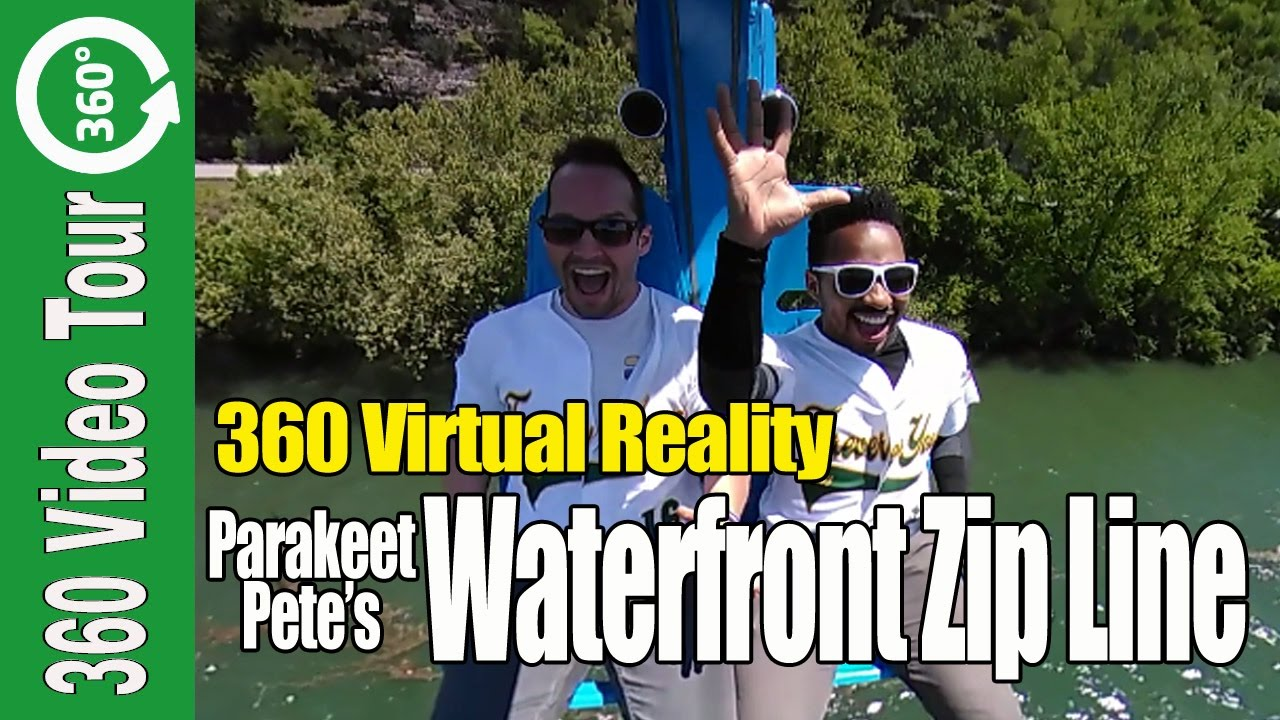 360 Waterfront Zip Line Ride in Branson Missouri