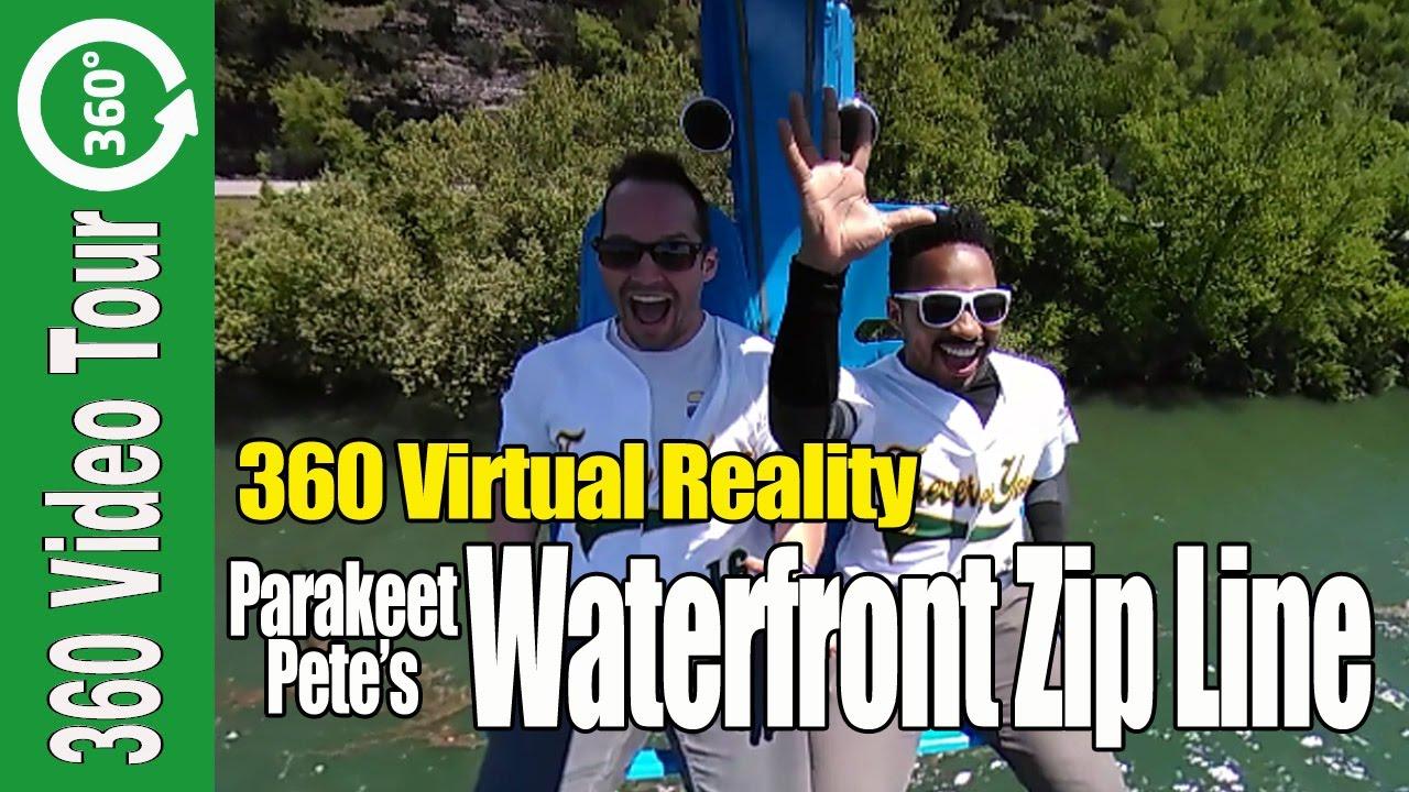 360 Waterfront Zip Line Ride in Branson Missouri