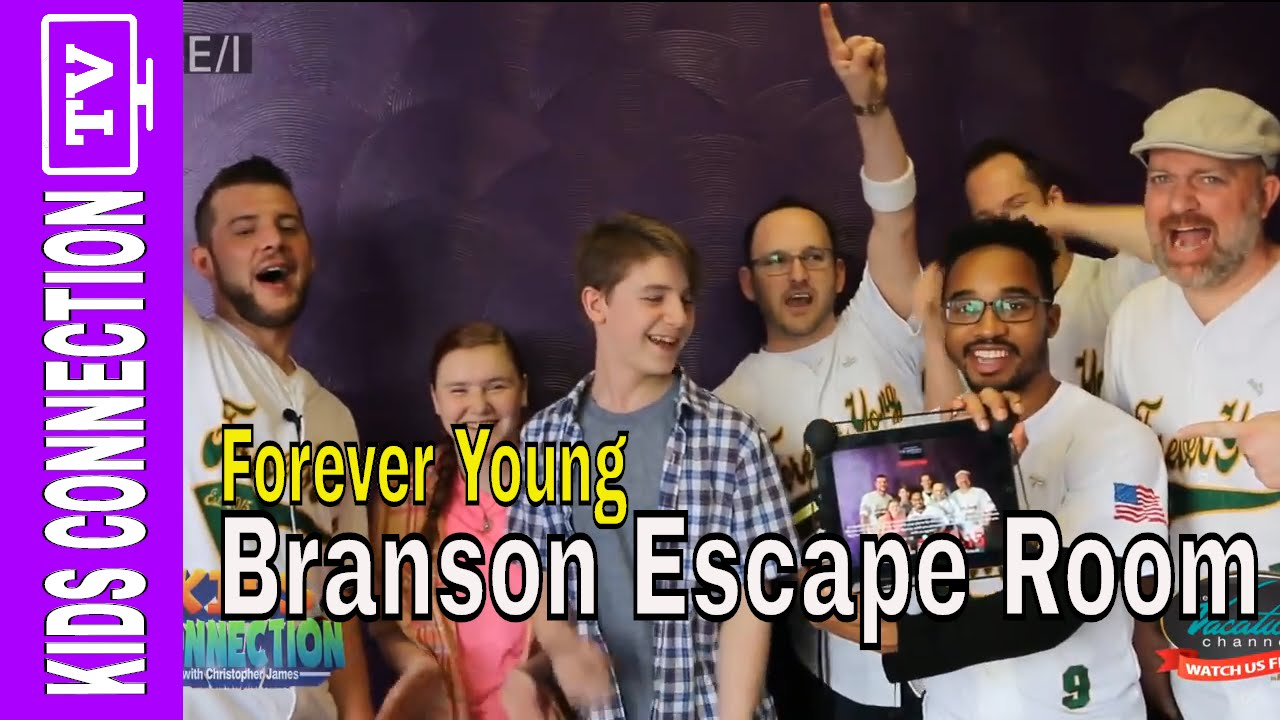 Forever Young at Cryptex Escape Room on Kids Connection