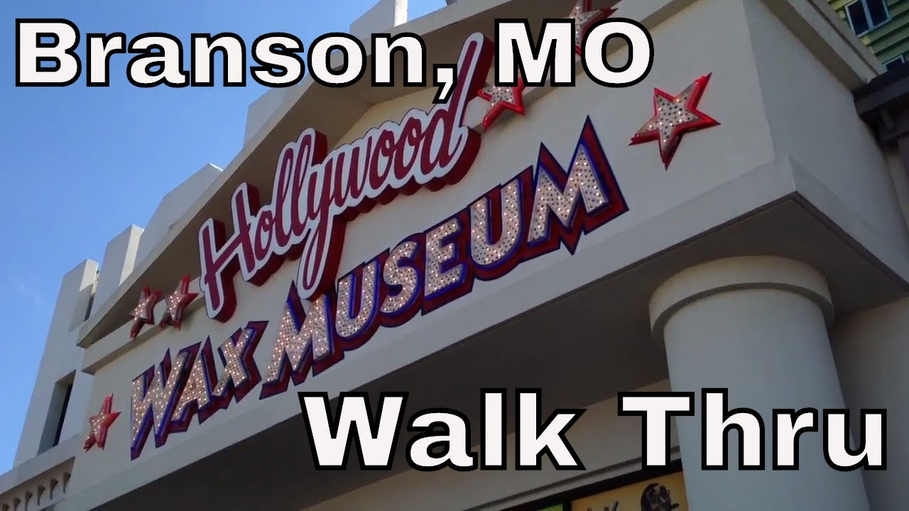 Hollywood Wax Museum Branson Missouri Walkthru
