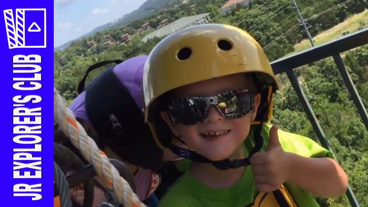 Branson Missouri Adventure Zip Lines with The Explorer's Club (Recorded 2016)