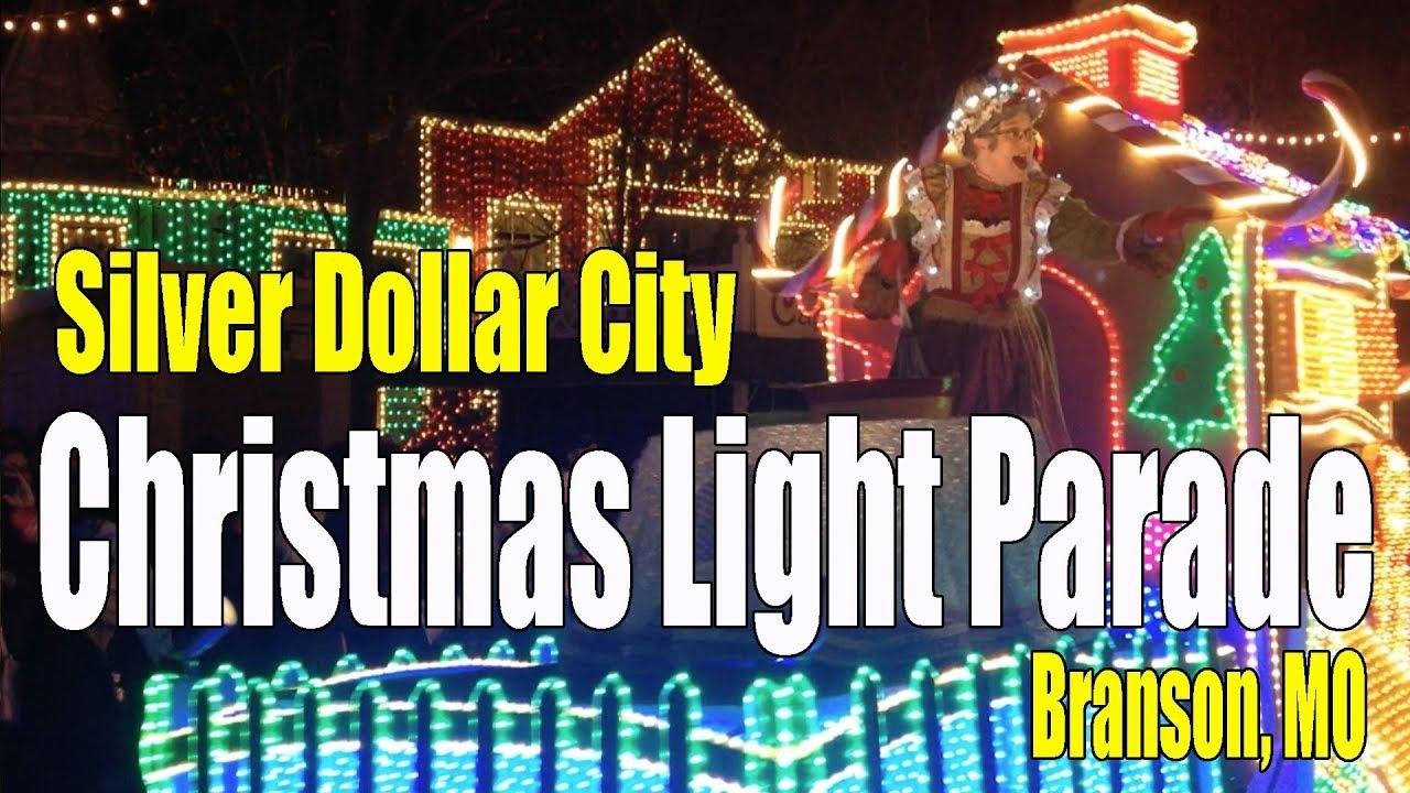 Christmas Parade at Silver Dollar City 2017