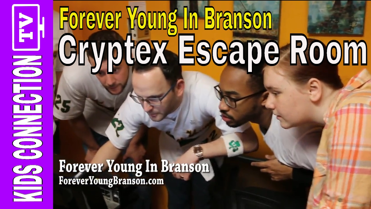 FEATURED VIDEO: Branson Escape Room with Forever Young – [Video]