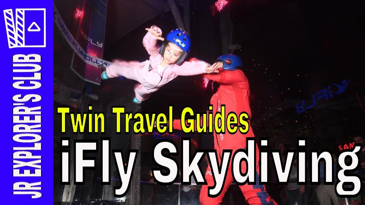 FEATURED VIDEO: iFly Indoor Skydiving With 4 Yr Olds On The Explorer's Club – [Video]