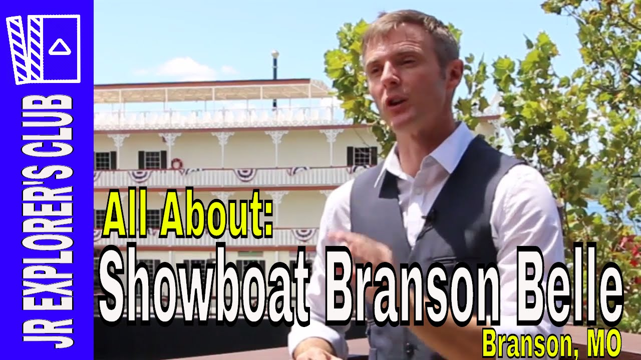 FEATURED VIDEO: Showboat Branson Belle Tour Behind The Scenes in Branson Missouri (Recorded 2016) – [Video]