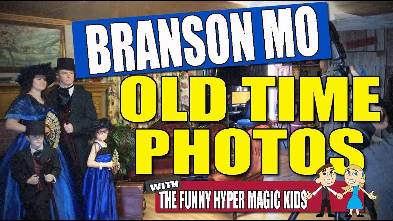 TNT Old Time Photos on The Explorer's Club Branson Missouri