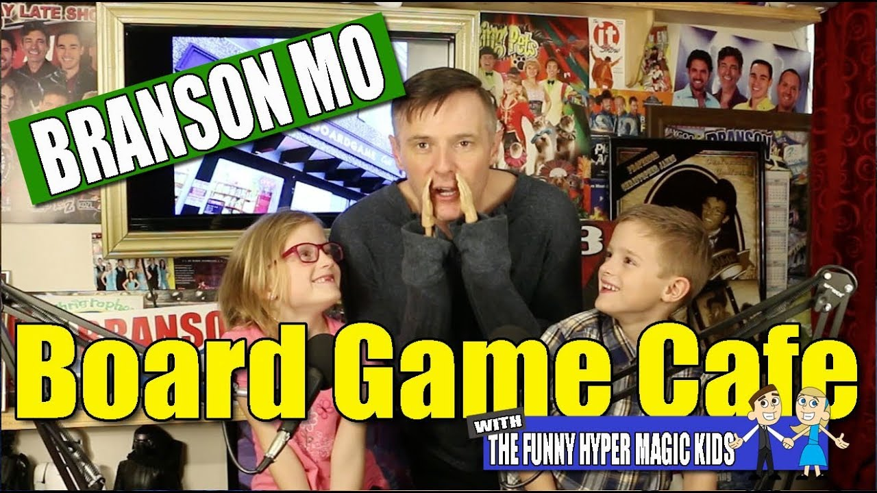Featured Video: Branson Boardgame Cafe – Explorer's Club
