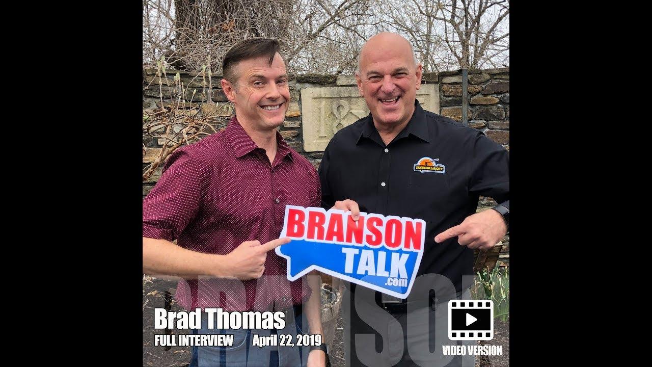 Silver Dollar City's Brad Thomas from Branson Misouri