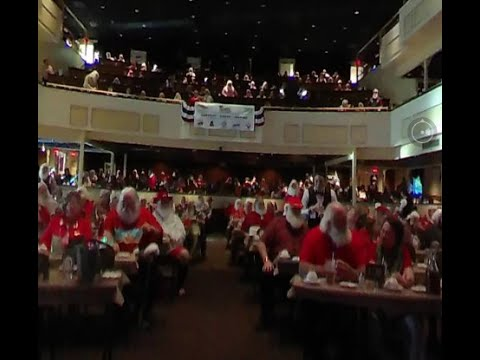 NEW VIDEO: Branson Missouri IBRBS Santa Convention Inside The Showboat Branson Belle