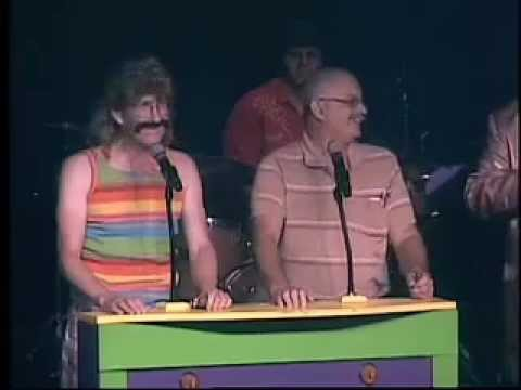Harley Worthit as TSA Agent in Game Show with Apple Jack at Comedy Jamboree Branson Missouri