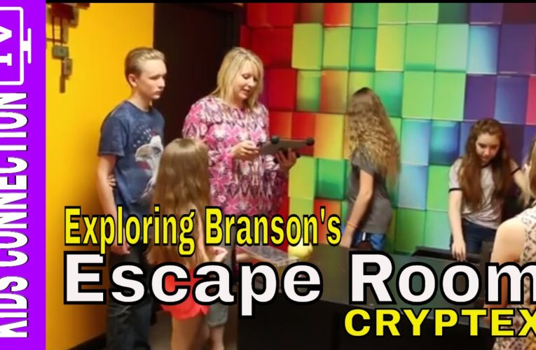 Featured Video: Cryptex Escape Room in Branson Missouri