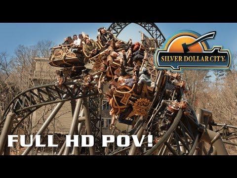 Time Traveler B-Roll and Full Spinning POV Silver Dollar City