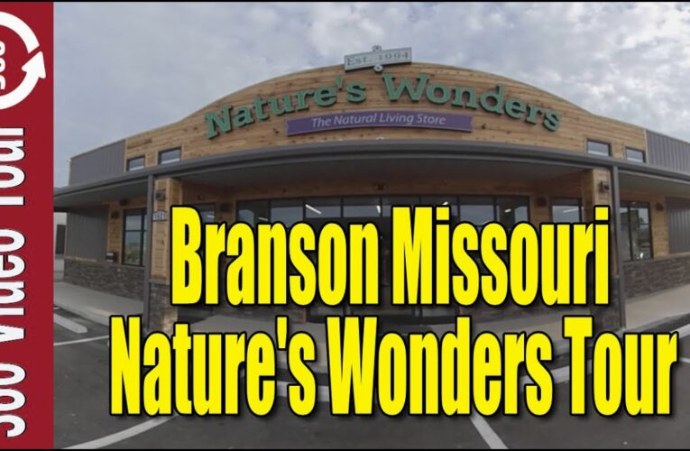 Featured Video: 360 VR Natures Wonders Branson Walk Thru