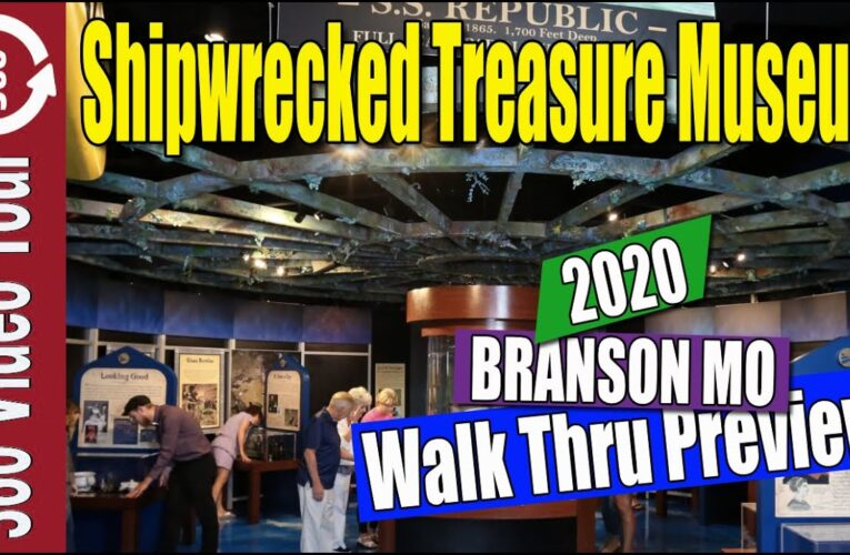 Featured Video: 360 VR Walk Thru Shipwrecked Treasure Museum – Branson Missouri