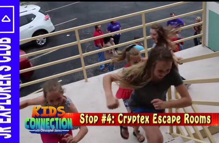 Featured Video: Branson Missouri Cryptex Escape Room On Kids Connection (2016)