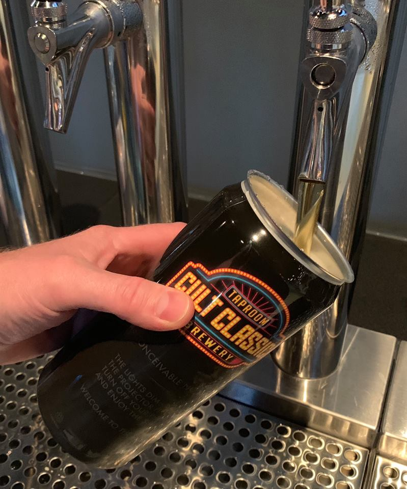 Crowler filling