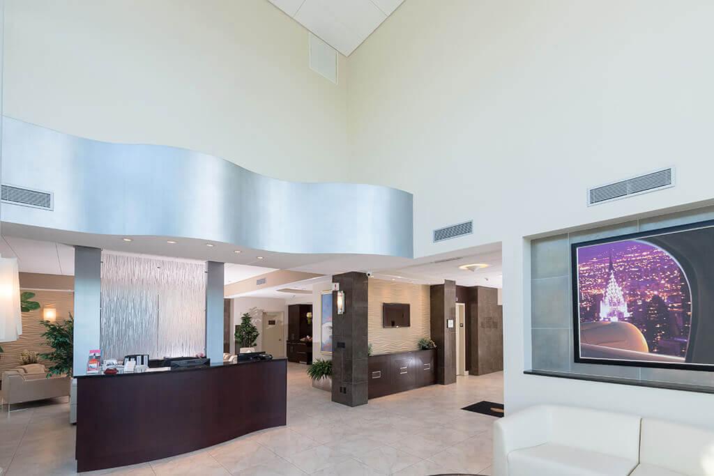 Republic Jet Center Lobby