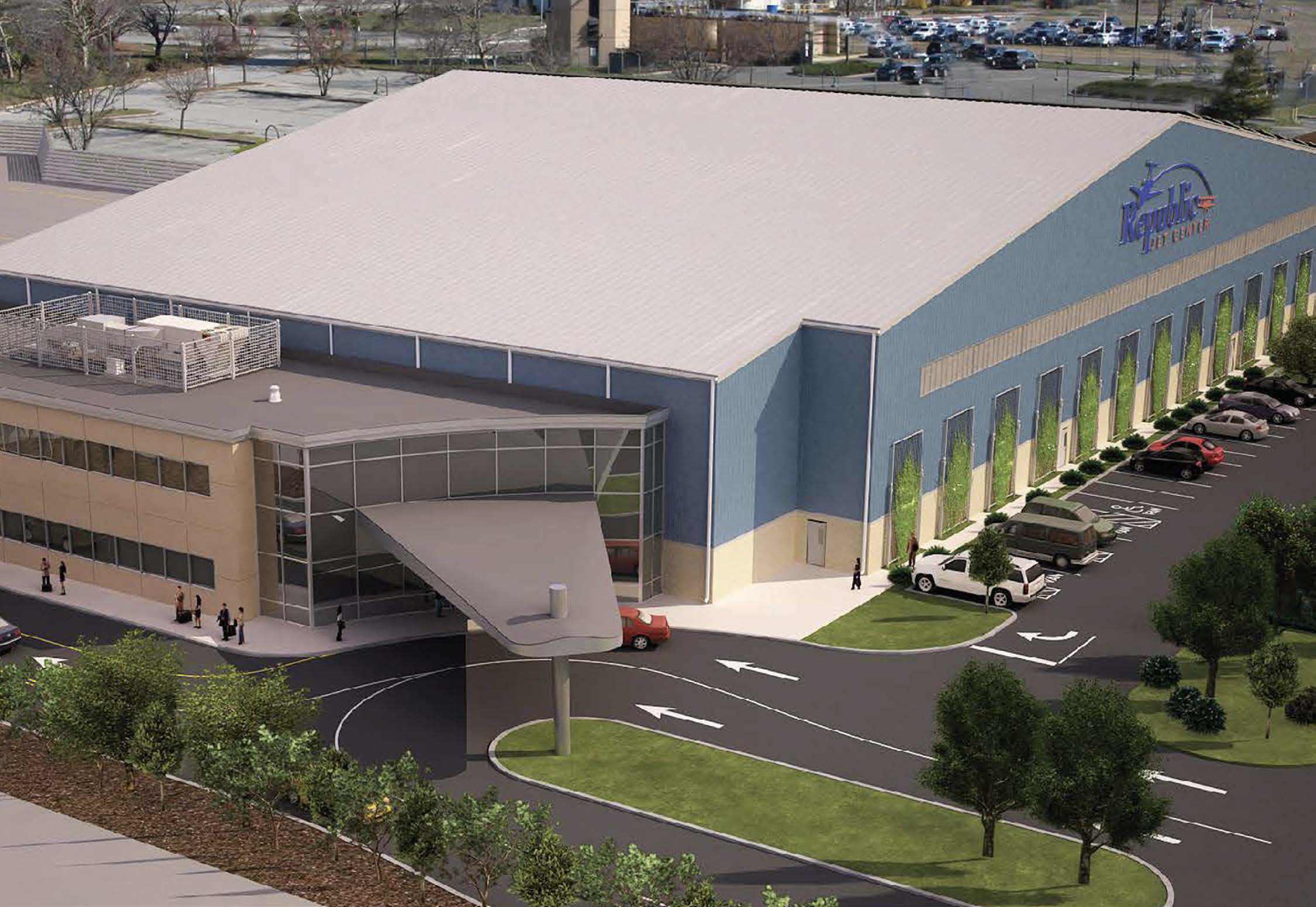 RJC North Building Rendering
