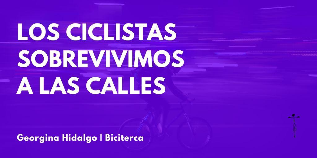 los ciclistas sobrevivimos