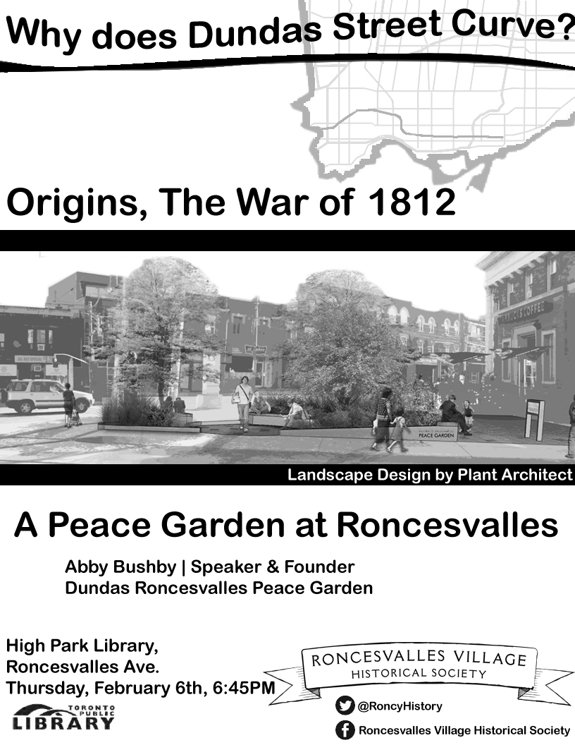 Dundas Roncesvalles Peace Garden - meeting