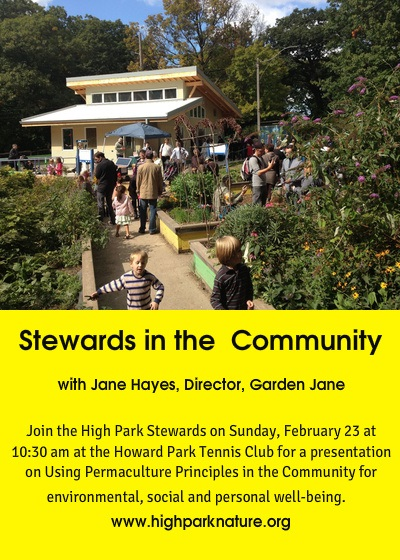 Feb 23rd - Permaculture High Park Stewards Session