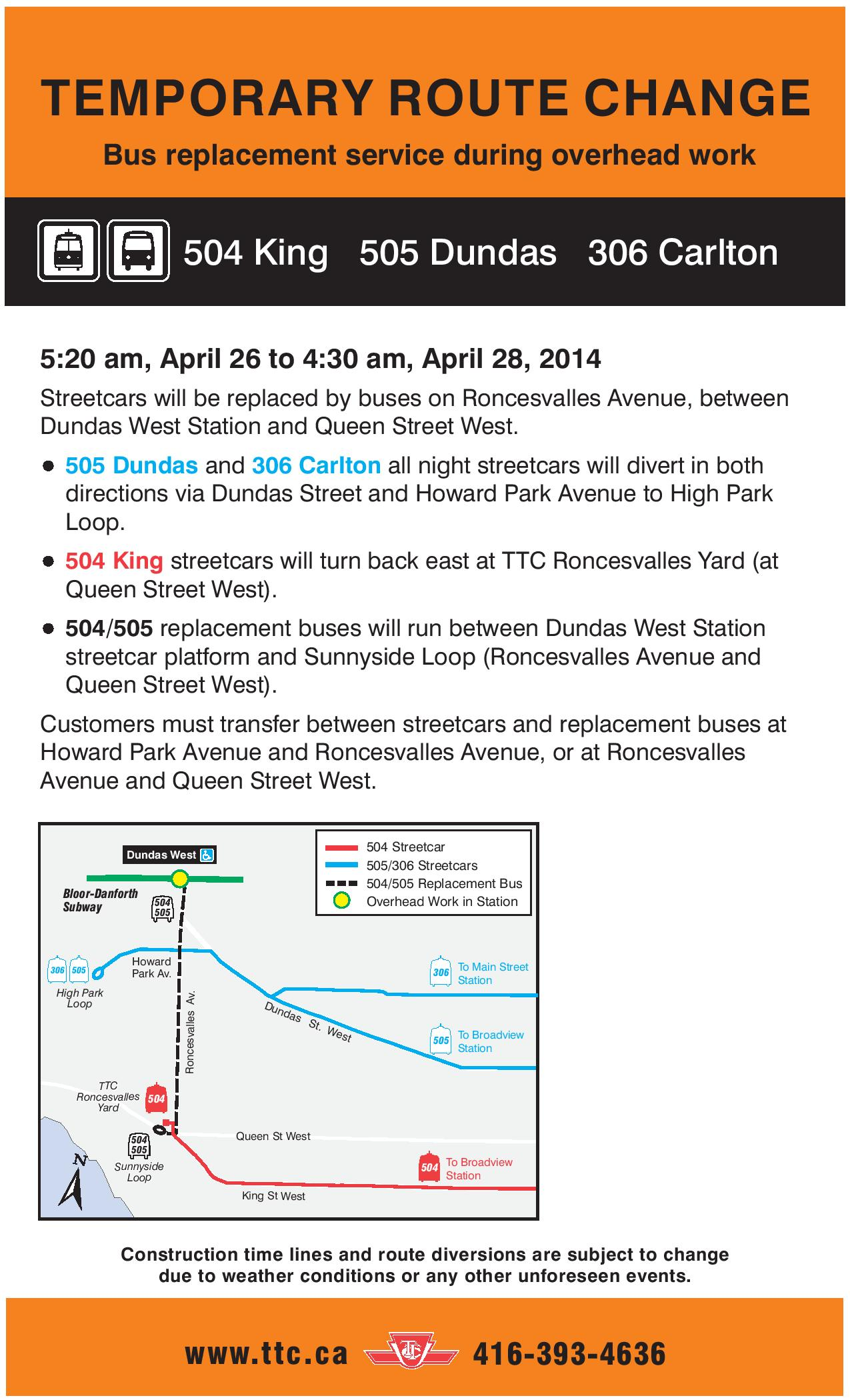 Temporarty Route Changes 520 am April 26 to 430 am April 28 2014-page-001