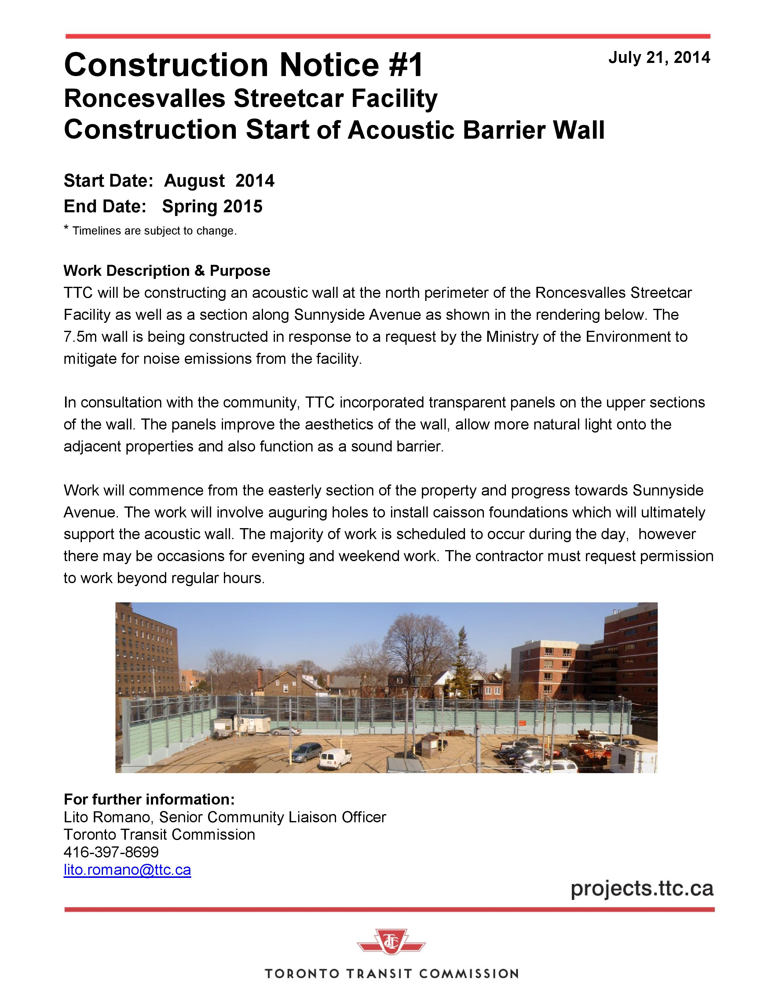 Construction Notice #1 Roncesvalless Acoustic Wall-page-001
