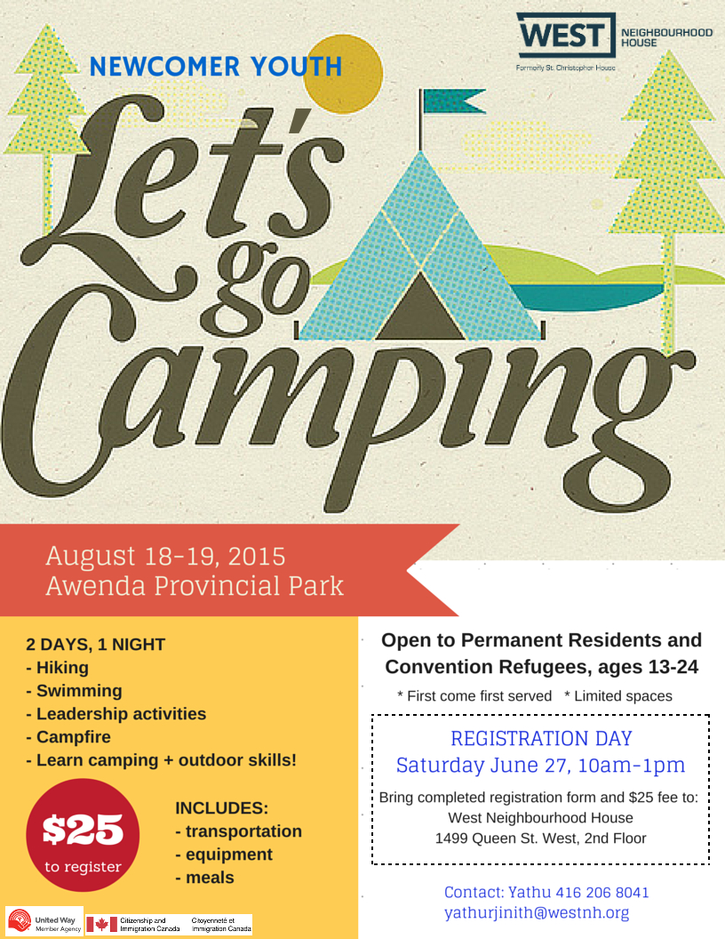 Camping 2015 Flyer