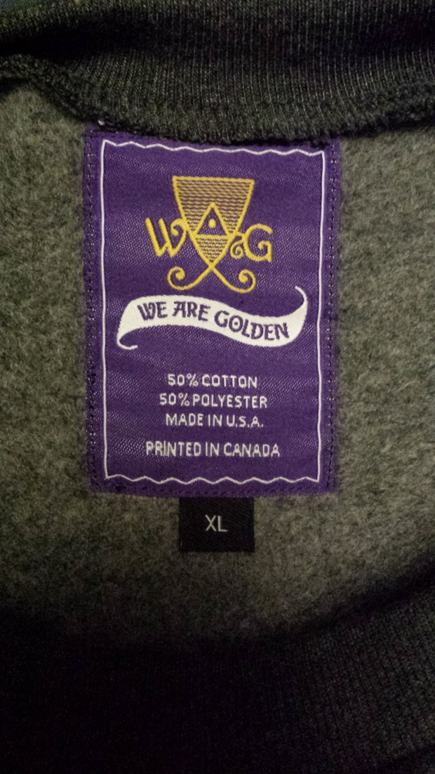 We Are Golden Private Label Tags
