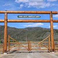 Gateway to the Idaho Rocky Mountain Ranch