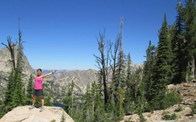 Erica's Journey to the Idaho Rocky Mountain Ranch