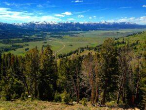 Galena Summit Overlook - Photo courtesy of Sarah Rosenkrantz