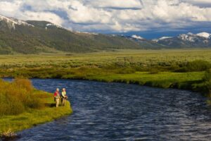Fly Fishing in the Salmon River