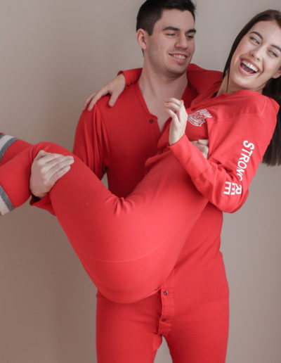 Men's and women's Strong & Free™ Onesie