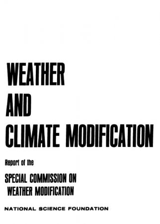 special comission on weather modification