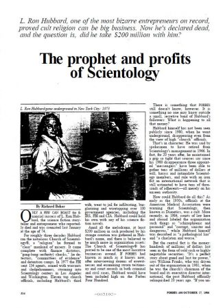 """CIA,Hubbard, Lafayette Ronald,Psychiatry,Reincarnation,Scientology Cosmology,Dianetics,Greece,Science Fiction"""