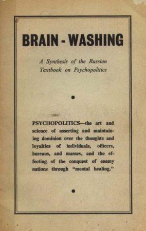"""Brainwashing,Communism,Freud, Sigmund,Hypnosis,Lenin,LSD,Marx, Karl (Marxism),Protocols of the Elders of Zion,Psychiatry,Psychoanalysis,Psychology,Scientology Christian Science,Demons (Demonic entities) 2,Dianetics,Propaganda"""