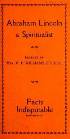 Clairvoyance,Lincoln,Mercury 2,Psychism 2,Spiritualism 2,Washington