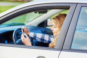 Distracted driving Millea Law Firm