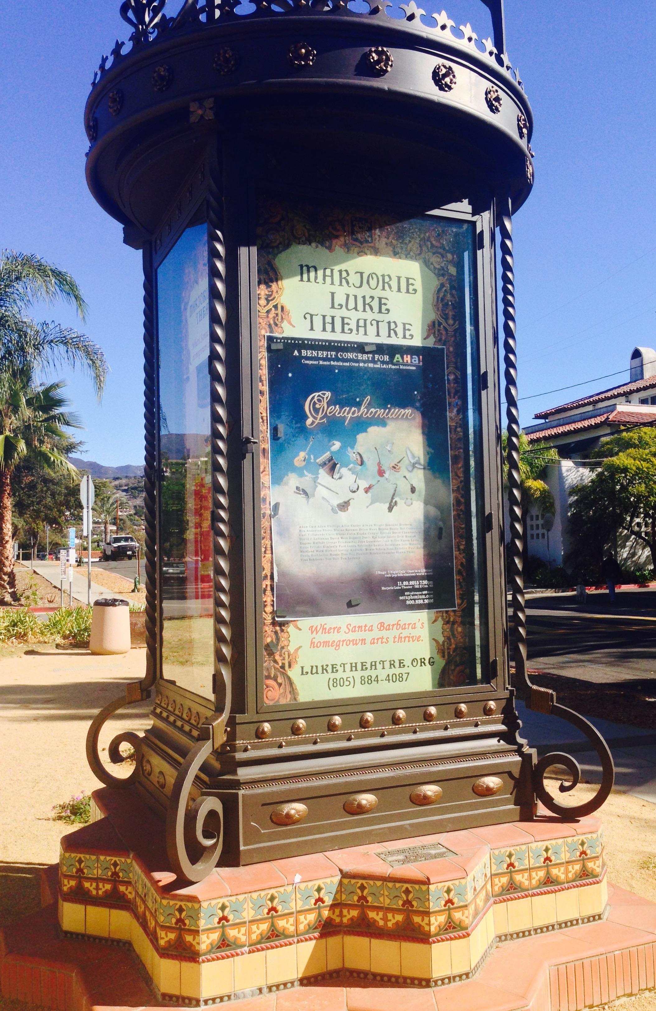 Seraphonium – Marjorie Luke Theatre Kiosk2