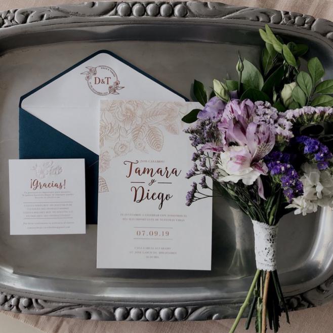 Tips sobre el diseño de las invitaciones de boda
