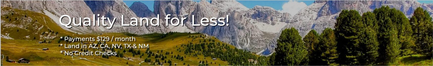 Land4less.us ad
